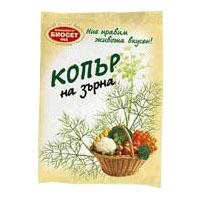 Копър Биосет зърна