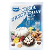 Сода бикарбонат Биосет плик 100г