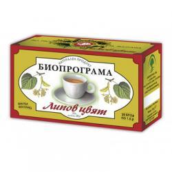 Чай Биопрограма Липов цвят