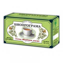 Чай Биопрограма Сена - майчин лист