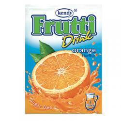 Фрути - разтворима напитка на прах с вкус на портокал