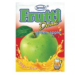 Фрути - разтворима напитка на прах с вкус на зелена ябълка