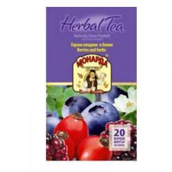Чай Монарда Горски плодове и билки