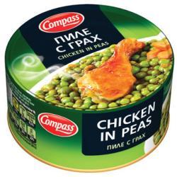 Пиле с грах Компас