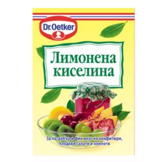 Лимонена киселина Д-р Йоткер