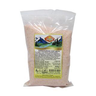 Хималайска сол Път към здраве фина 500г