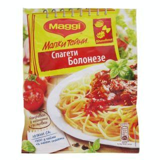 Подправка Маги Малки тайни за спагети болонезе