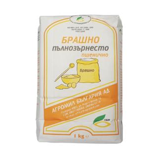 Брашно пълнозърнесто-пшенично Агромил България АД 1кг