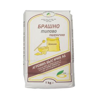 Брашно типово-пшенично Агромил България АД 1кг